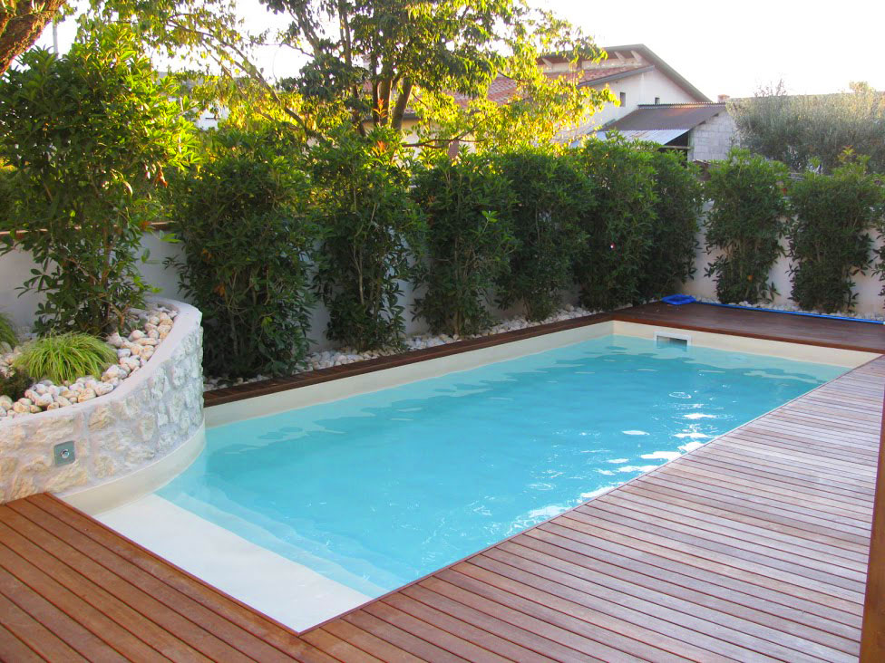 Piscine mignon aquatech snc - Piscine piccole interrate ...